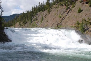 Bow Falls, Banff, June 2008