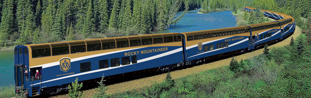 Rocky Mountaineer Record Departure