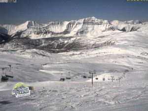 Sunshine Village, Banff, ski cam snapshot from today