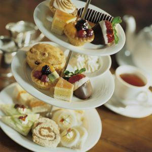 afternoon tea served in the rundle lounge