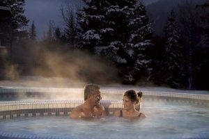 willow stream spa outdoor whirlpool